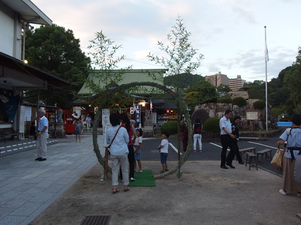 早稲田神社にて